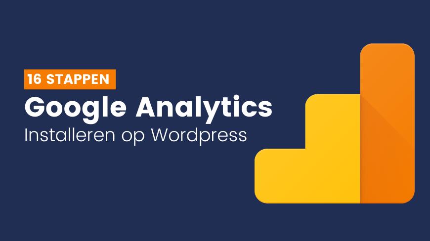 Installeren Google Analytics via Google Tag Manager
